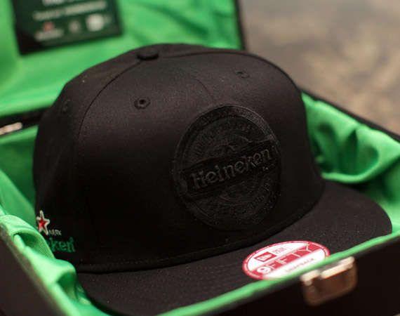Dutch Brewery Baseball Caps : Heineken100 Blackout New Era Snapback