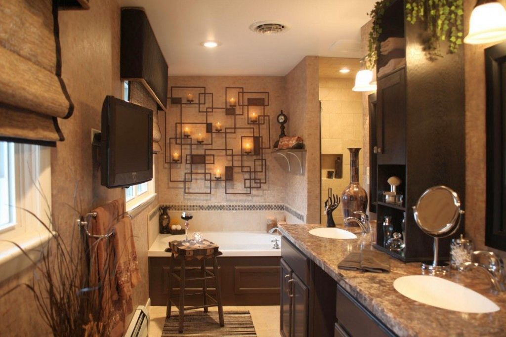 rustic master bathroom design ideas - Google Search new house