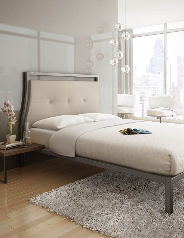 Amisco - Furniture - Bedroom - Opera Platform Bed - Made with ...