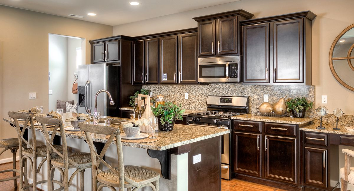 From The Ceiling To The Floor Which Part Of This Kitchen Do You Like More With Images Home Kitchens New Home Communities New Homes