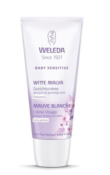 Weleda Baby Sensitive Witte Malva Gezichtscrème