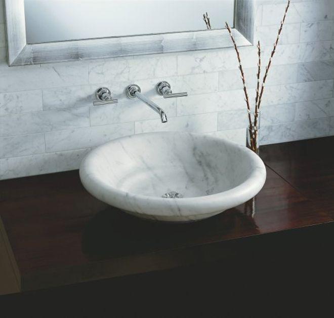 Charming Vessel Sink (TheBathBarnShowroom.com)