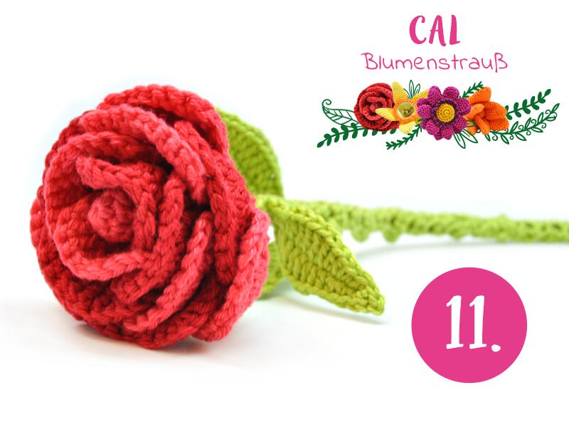 Blumenstrauß CAL: Häkeln Sie mit uns mit! | Wollplatz, Blumenstrauß ...
