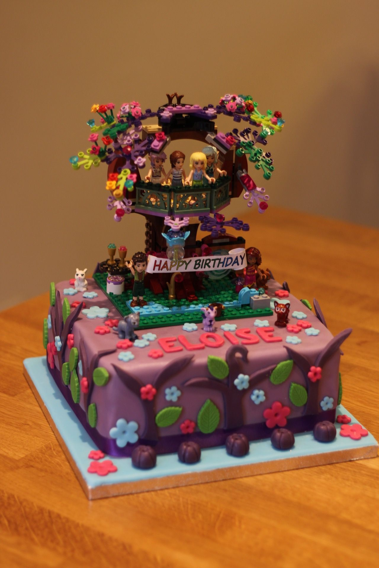 Lego Elves Birthday Cake