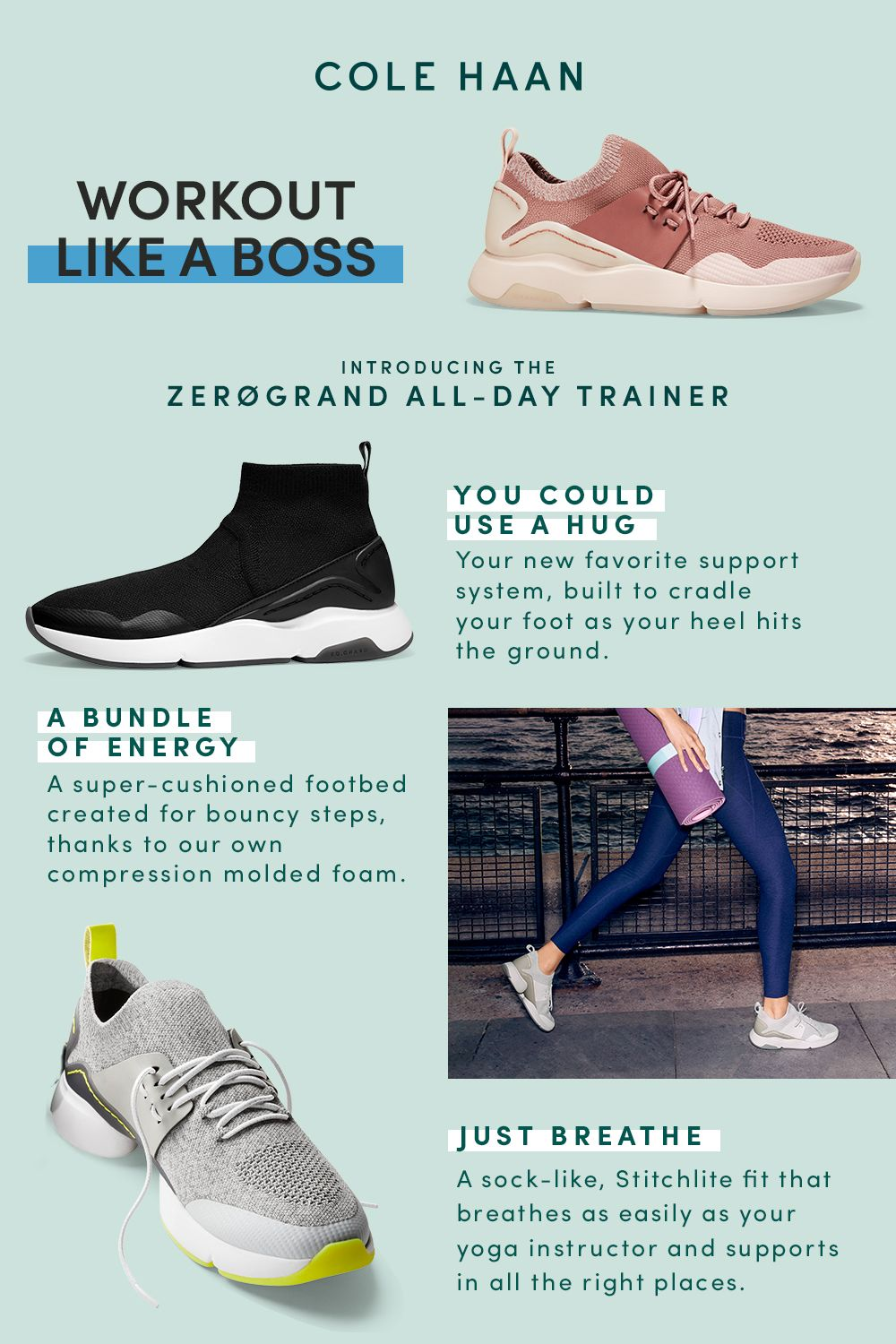 Workout shoes, Sneakers