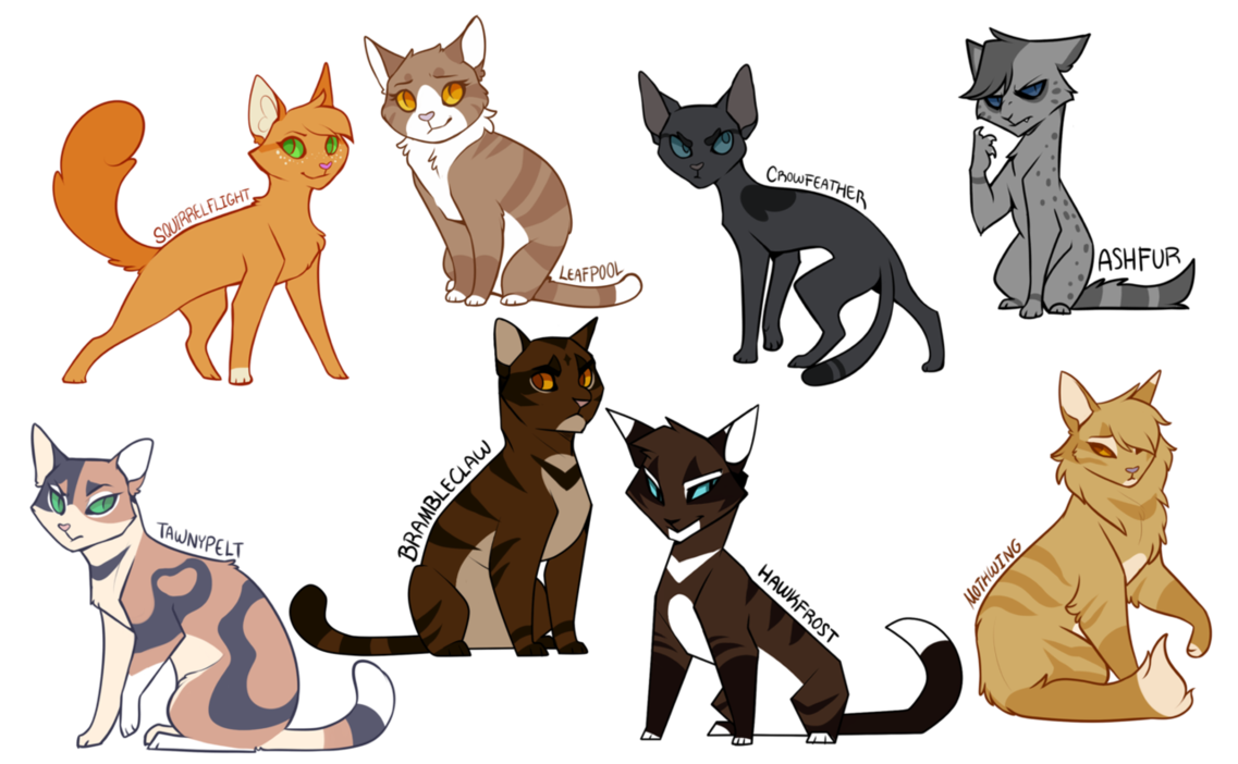 Minus Stormfur and Feathertail I just really didn't feel