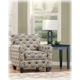 Danielle Eggplant Accent Sofa Furniture Accent Chairs Ashley