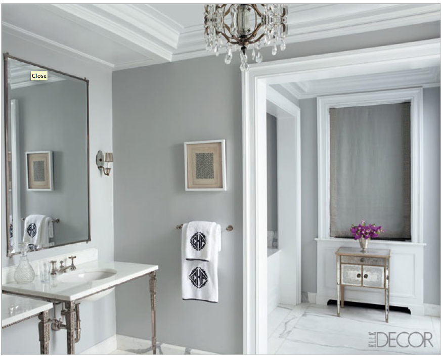 The Awesome Web ellen ratieken us chicago home designed by nate berkus and anne coyle benjamin moore cliffside gray bathroom