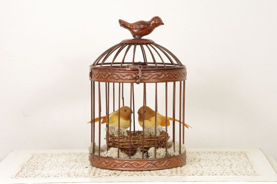 Birdcage Wedding Cake Topper By Duryeaplacedesigns On Etsy 60 00