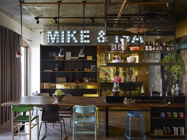 apartamento estilo industrial bancada gourmet taipei escritrio tammin design