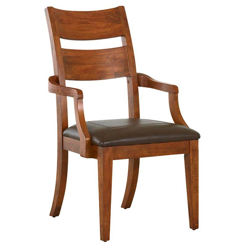 Klaussner Urban Craftsman Dining Arm Chair 2 Chairs