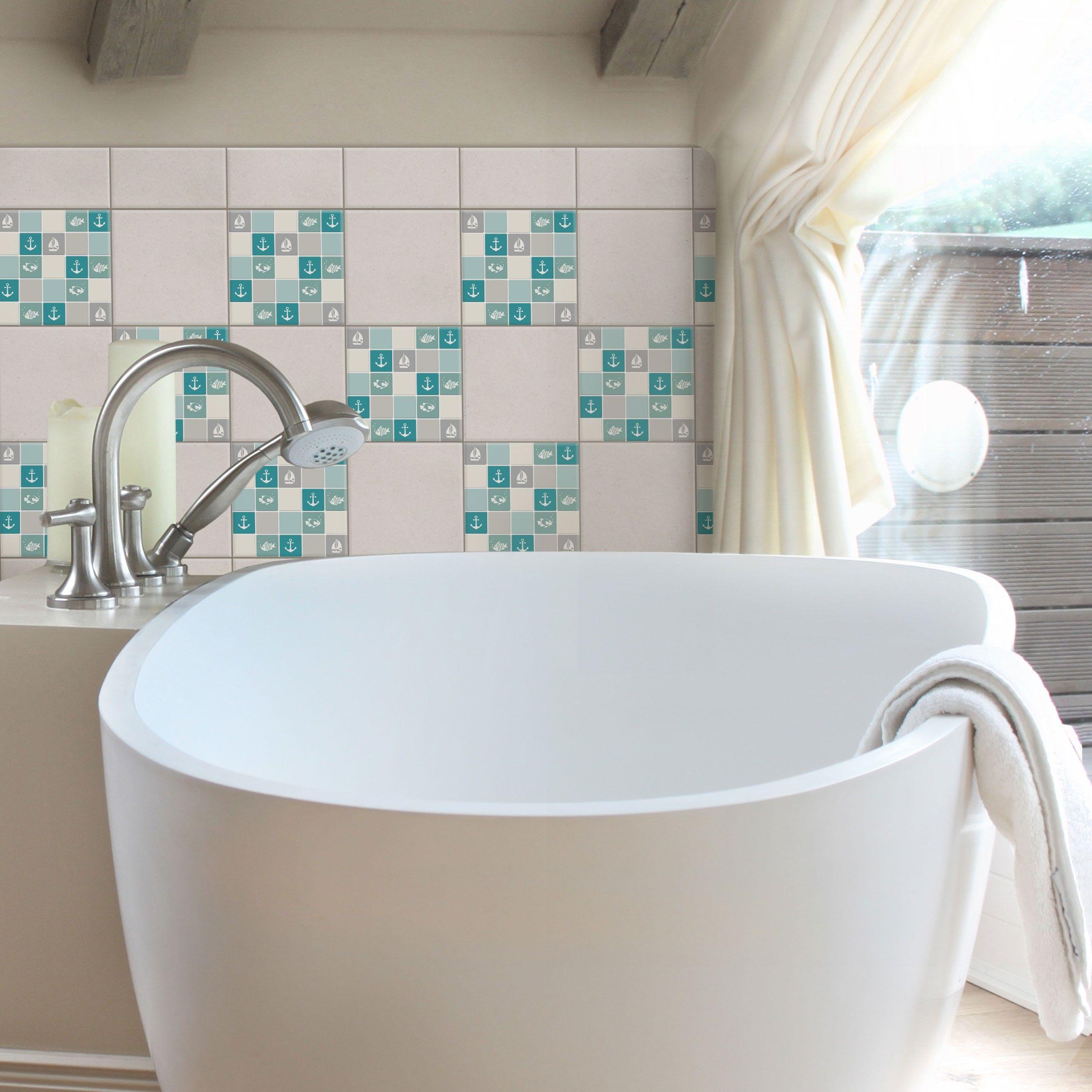 Frisch Badezimmer Fliesen Mosaik Bordure Entwurf Houz Ideen Wadudu Http Houzideenwadudu Blogspot Com 2 In 2020 Badezimmer Fliesen Badezimmer Badezimmer Quadratisch