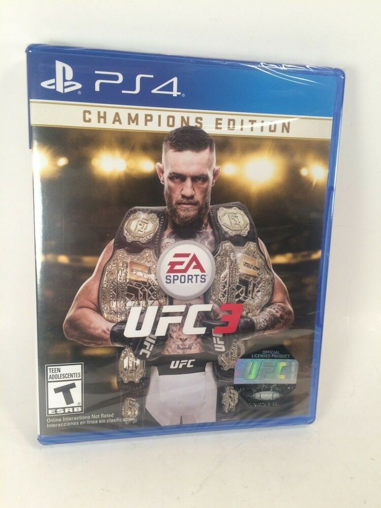 EA Sports UFC 3 Champions Edition Sony PlayStation 4 PS4