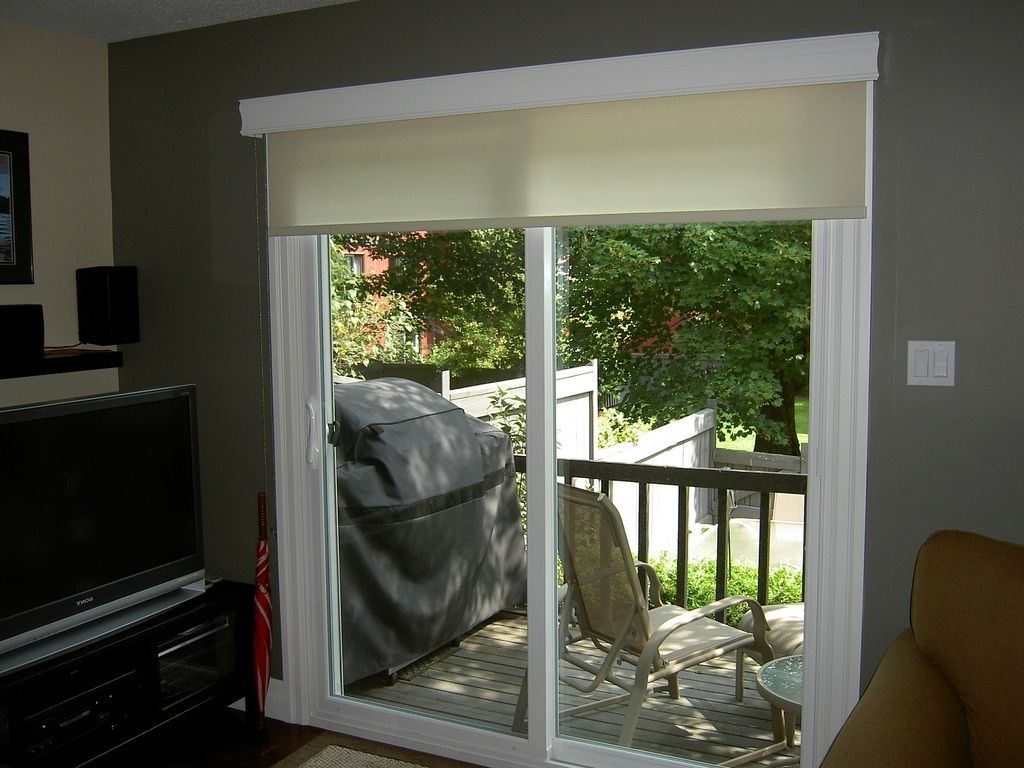 Ideas About Sliding Door Shades On Pinterest Patio Blinds