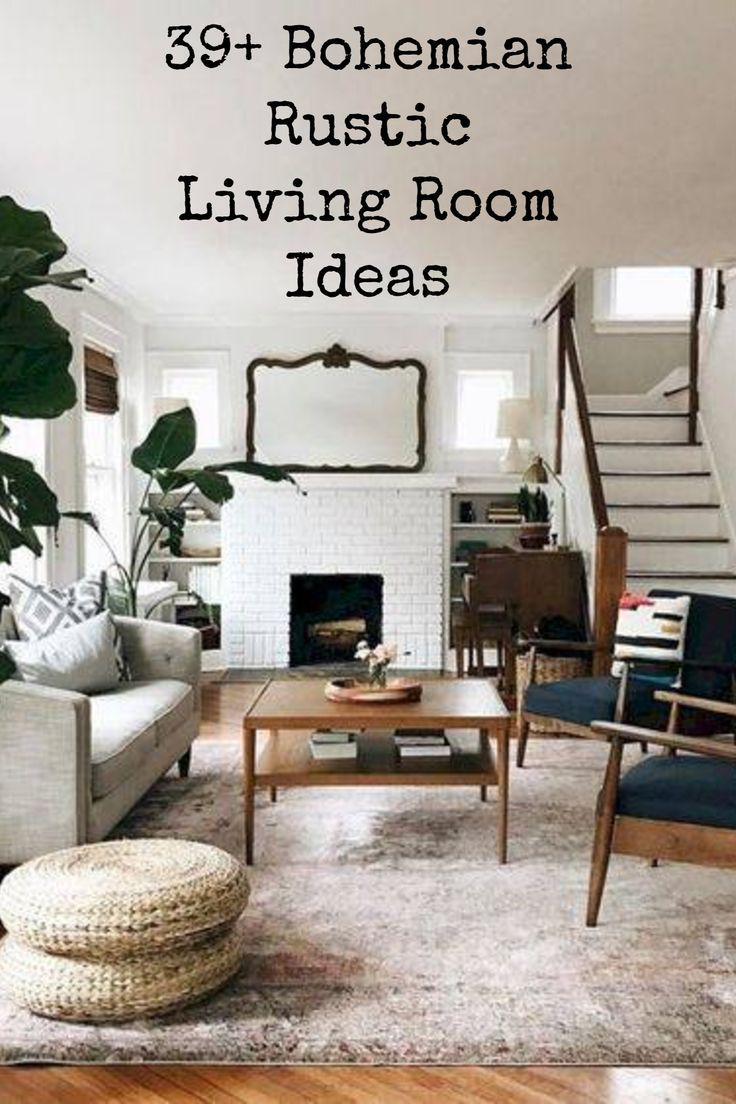 51+ Bohemian Chic Living Room Decor Ideas images