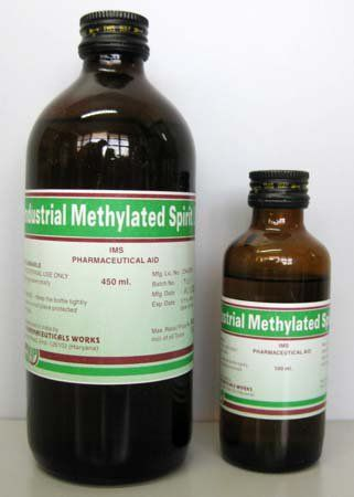 3  Methylated Spirits – an alcohol solvent, which removes