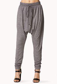 Heathered Harem Pants / Comfy #ForeverHoliday