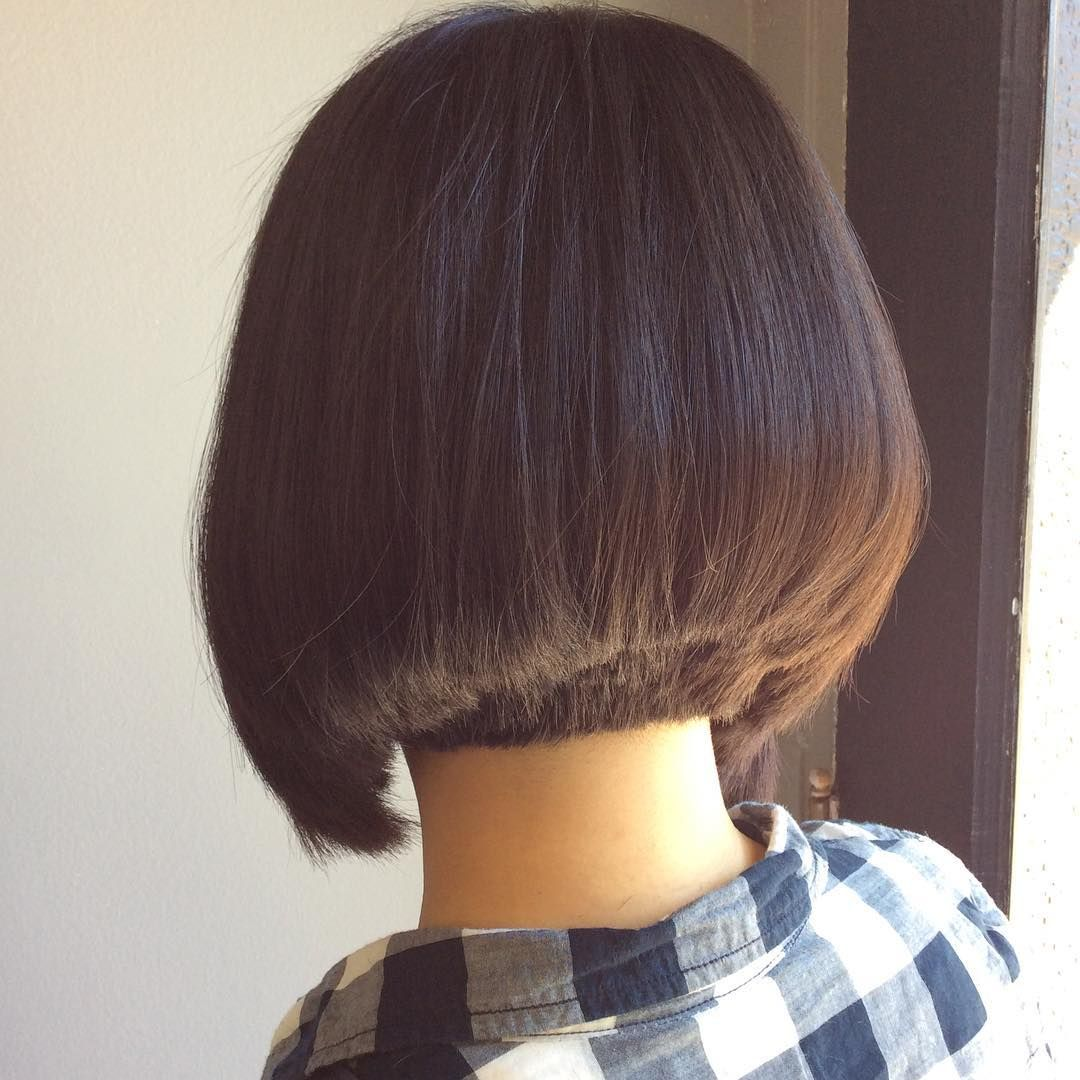 The back of todayus bob bobs pinterest bobs cut hairstyles