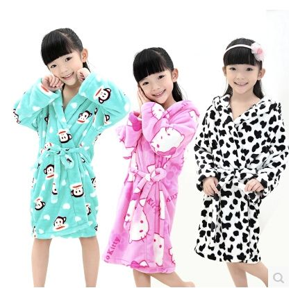 children warm fleece bathrobe dressing gown | children\'s clothing ...