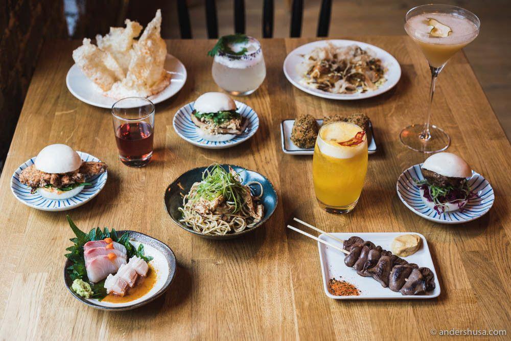 Night Pig Japanese Inspired Izakaya Sake Bar In Oslo Sake Bar Night Food Izakaya