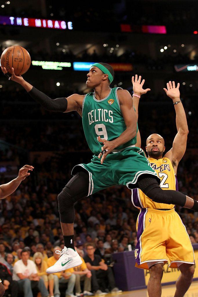 Rajon Rondo Photos Photos Nba Finals Game 1 Boston Celtics V Los Angeles Lakers Boston Celtics Boston Celtics Basketball Nba Finals Game 1