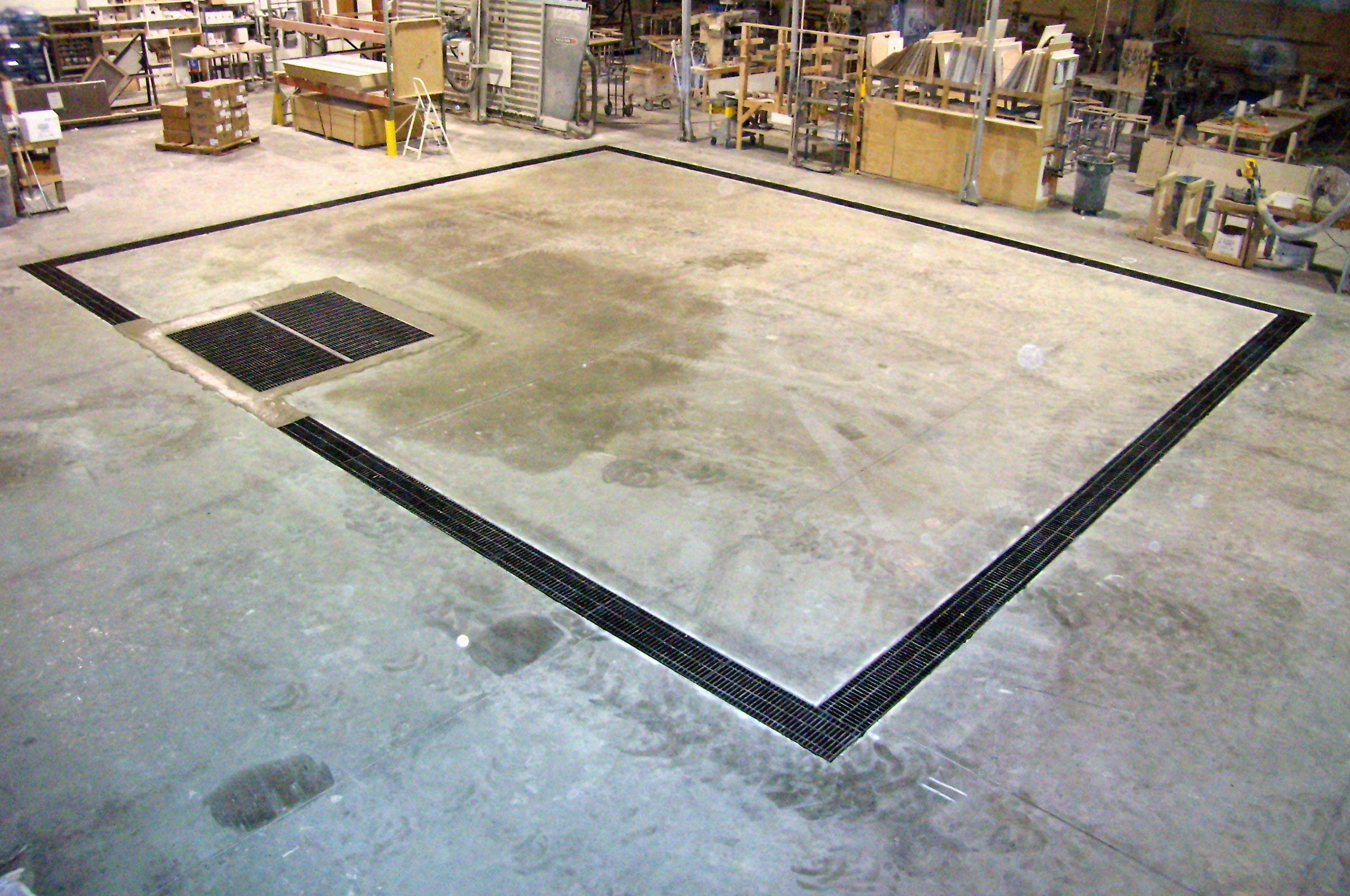 Garage Floor Drain Designs The Better Garages Garage Floor Drain Systems Floor Drains Garage Floor Flooring
