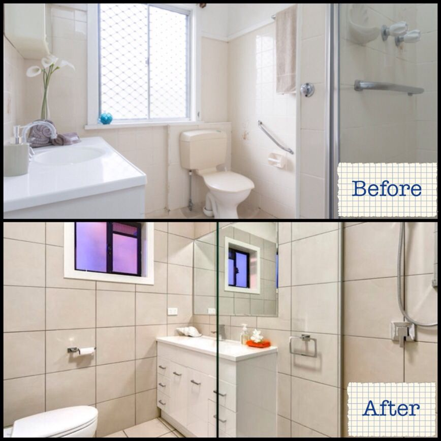Bathroom Renovations Qld bathroom turned into ensuite #bathroom #renovation #postwar