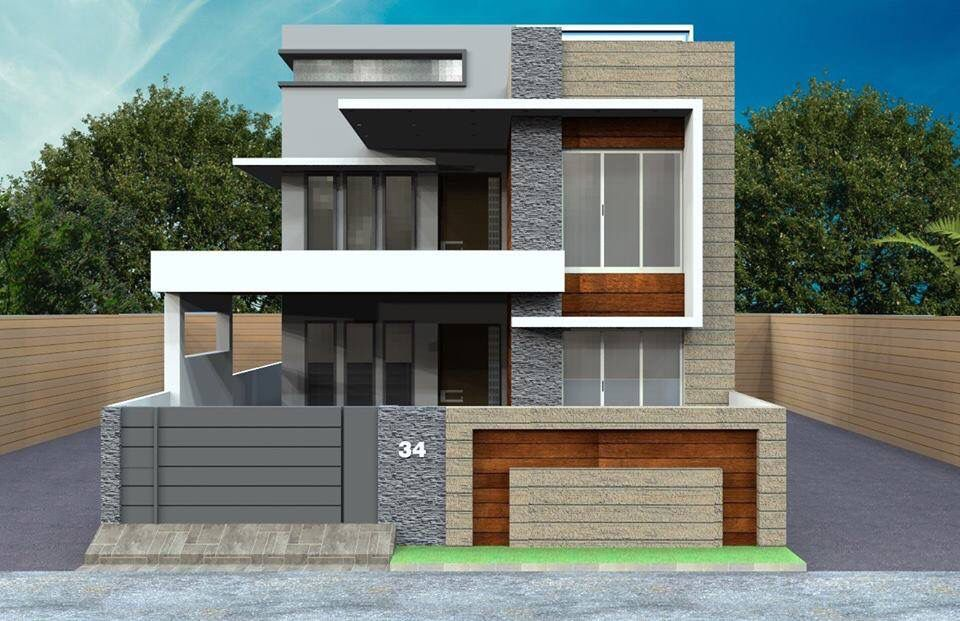 Pin By Dillon On House Concept Duplex House Design Kerala House