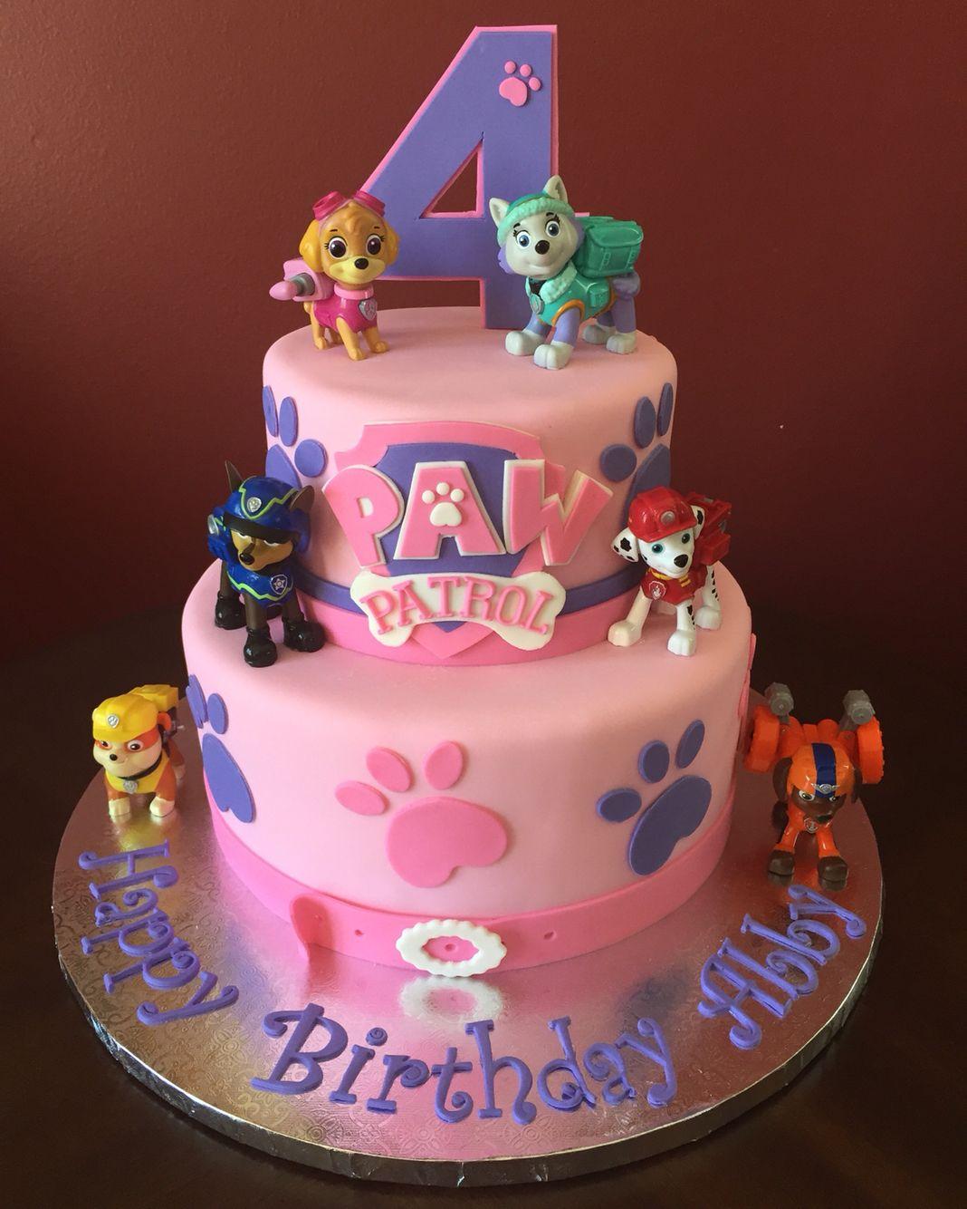 Paw Patrol Birthday Cake Kindergeburtstag Geburtstag