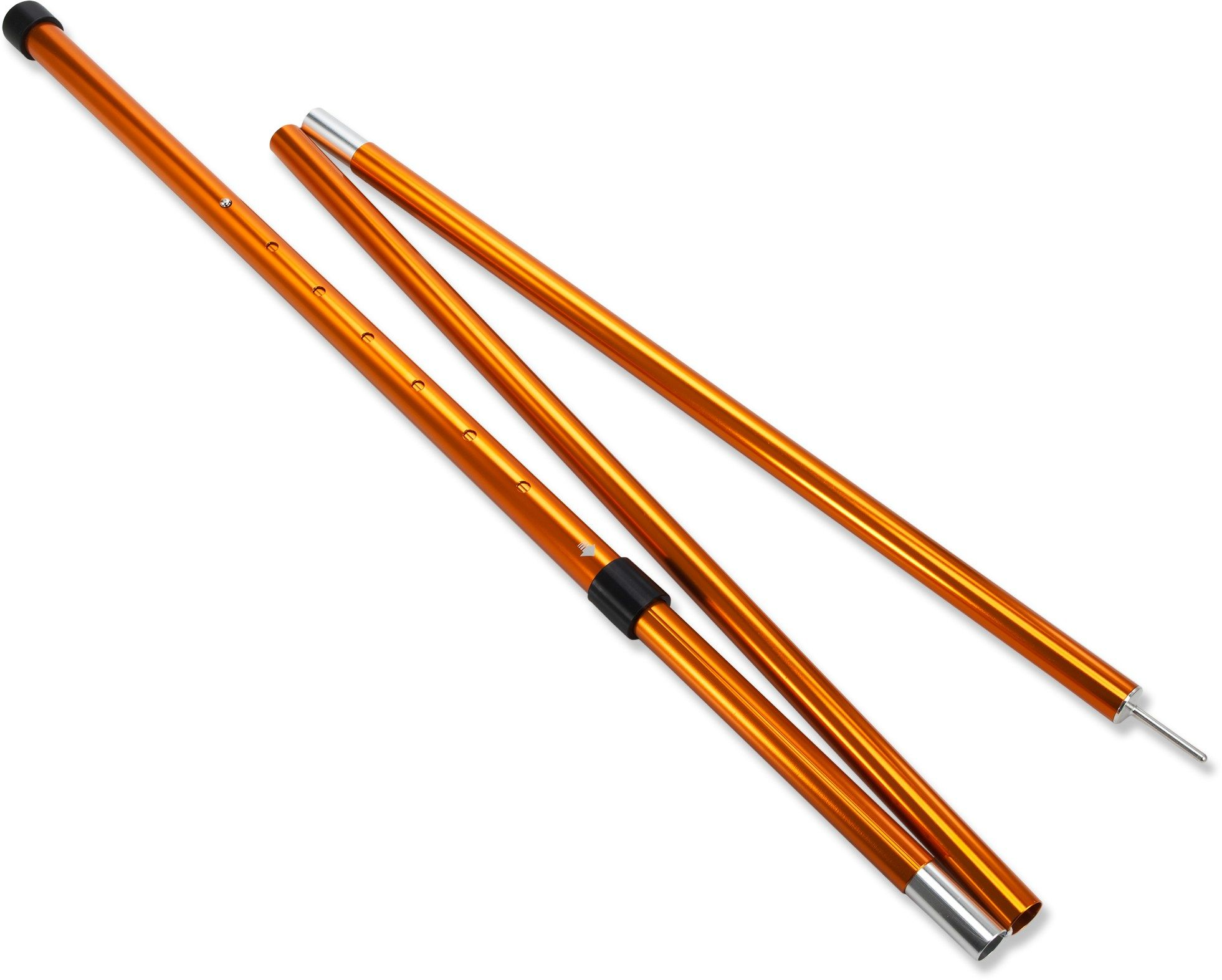 Adjustable Tarp Pole Single Tarp Poles And Rain Fly