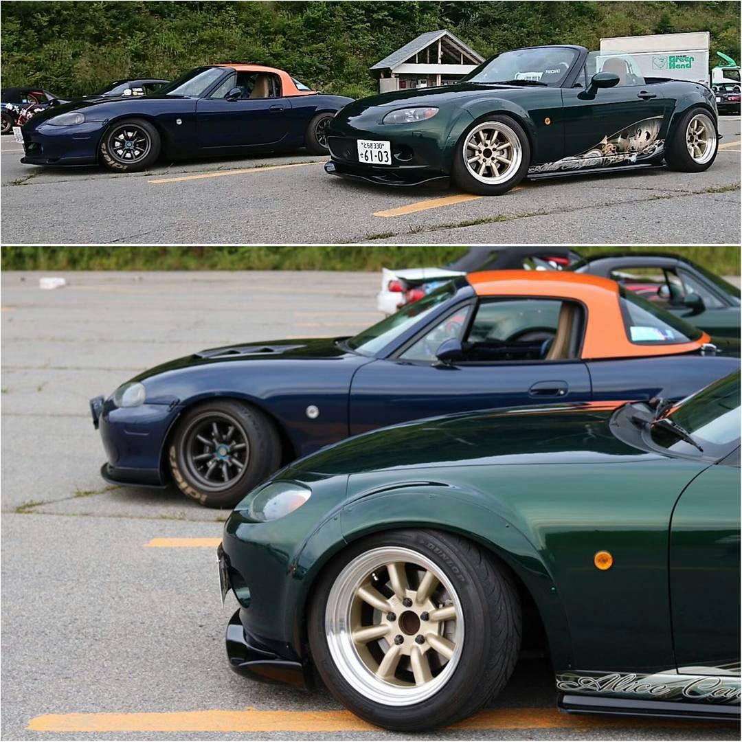 Nc Mazda Miata Mx 5 On Rs Watanabe From Japan Mazda Miata Miata
