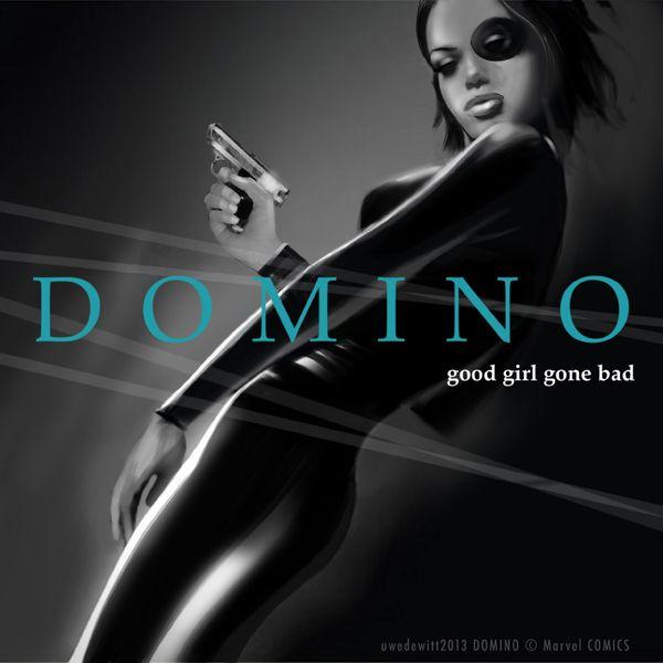Uwe De Witt Domino Rihanna Album Cover Domino Marvel Rihanna
