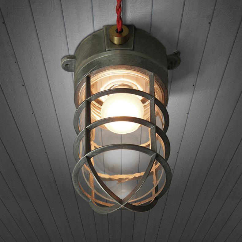 Classic Nautical Bunker Ceiling Light Ceiling Lights Art