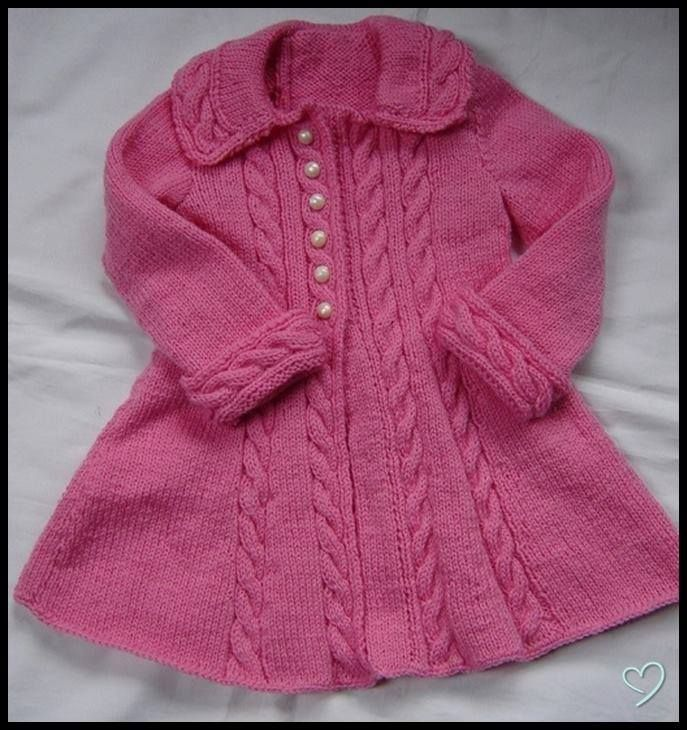 Pin by Anca Roxana on Children\'s fashion (knitting and crochet ...