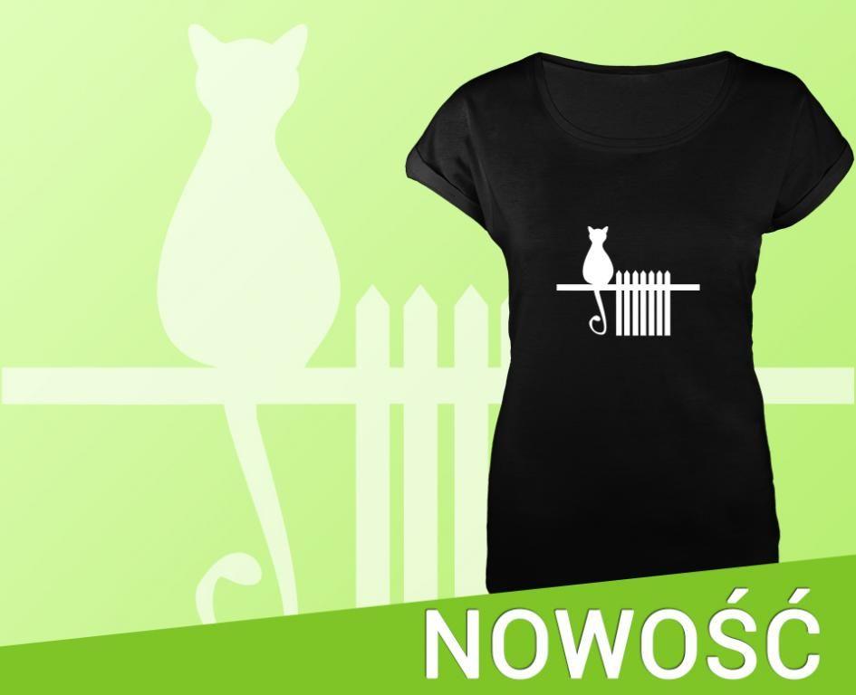 Czarna Koszulka Damska Z Nadrukiem Nowy Fason S 5612732957 Oficjalne Archiwum Allegro T Shirts For Women Women Women S Top