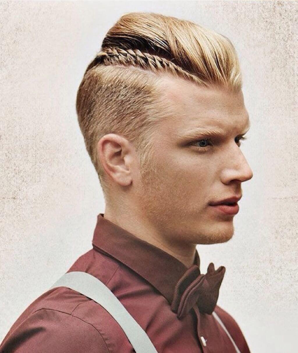 Frisuren Männer Undercut Zopf Hair Style Women Hair Styles Hair