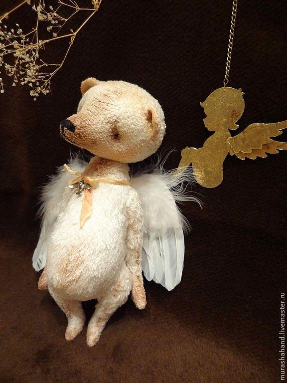 Купить Ясный свет 23 см (мишки тедди) - антикварный плюш, любимый, интерьерная игрушка