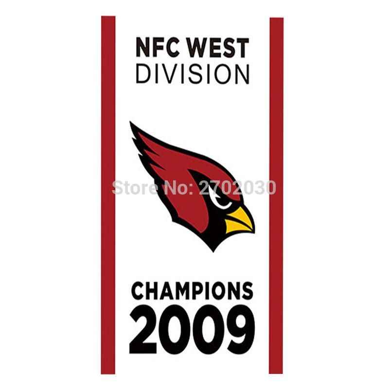 92152c82990 Arizona Cardinals Banner Flag West Division Super Bowl Champions 3ft X 5ft  World Series Football Team Arizona Cardinals Flag