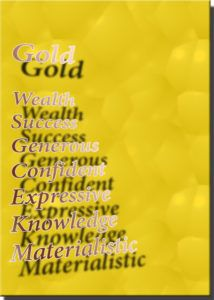 Color gold meaning & affects #candlecolormeanings