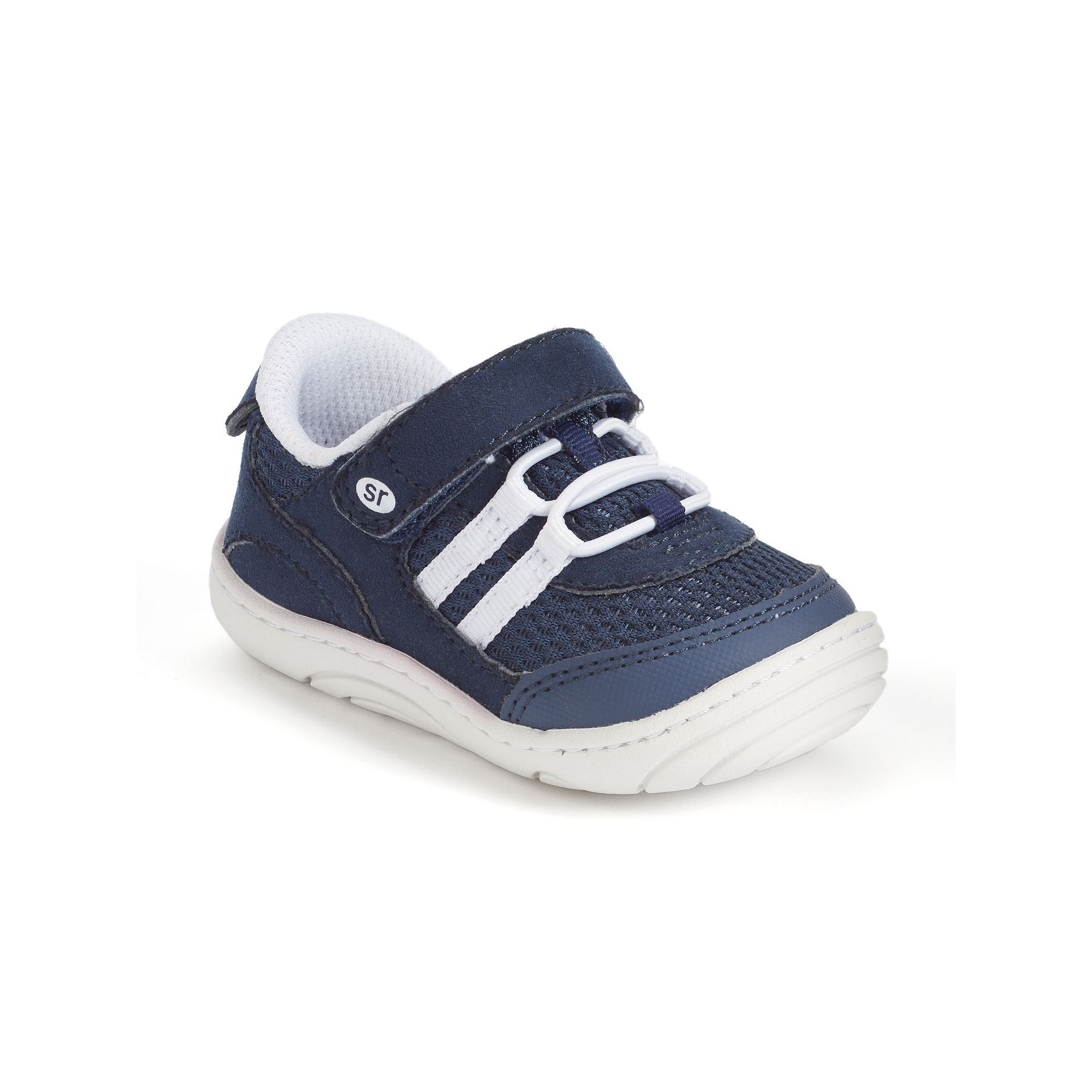 Stride Rite Ivan Baby Boys Sneakers Size 3 5 T Blue Navy