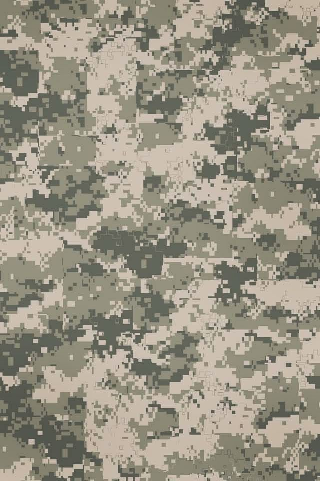 Digital Camo IPhone Wallpaper