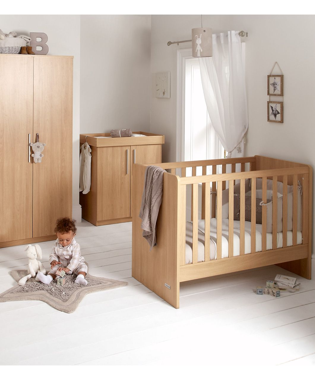 Alten 3 Piece Set - Oak - Sale - Mamas & Papas £299 | Wood Furniture ...