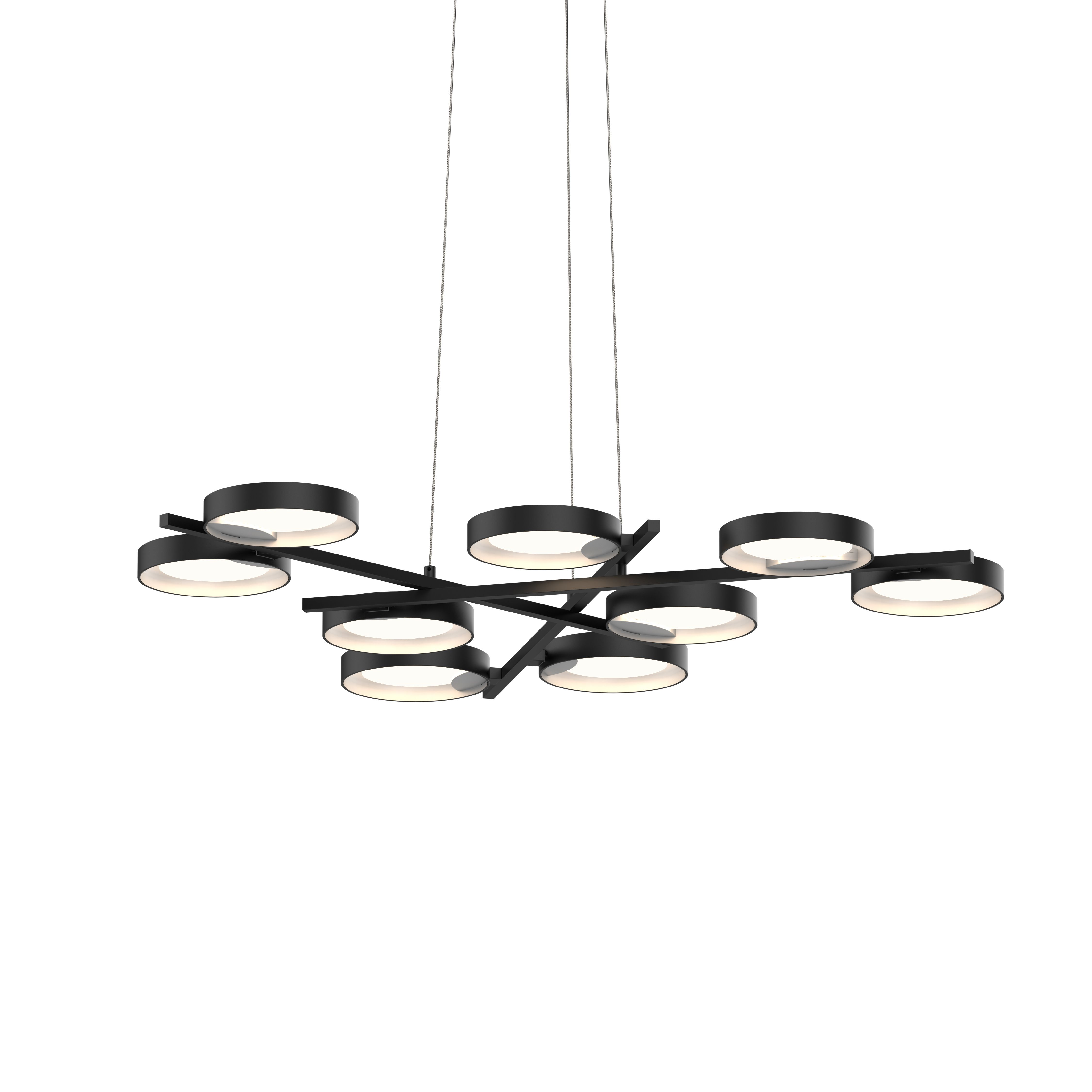 Light Guide Ring 9 Light Led Pendant 25w Sonneman