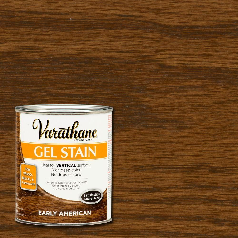 Varathane 1 Qt Early American Gel Stain Case Of 2