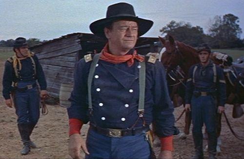 Details about John Wayne Style Bib Front Cavalry Shirt Size