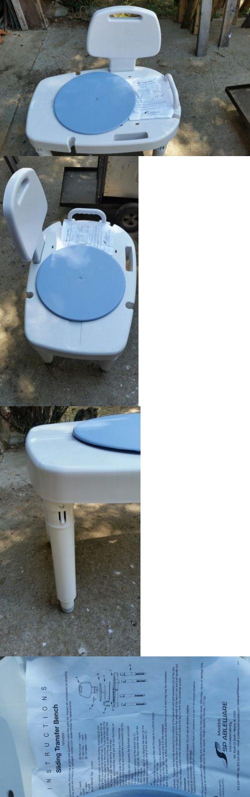 Transfer Boards and Benches: Maddak Bath Sliding Transfer Bench ...