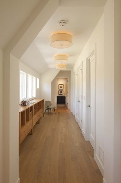 Contemporary Hall by Charlie  Co Design, Ltd Lighting