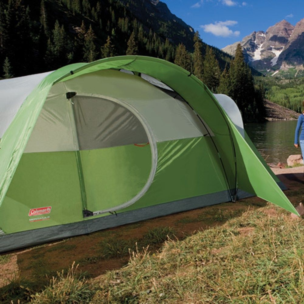 Coleman - Coleman® Montana™ 8-Person Tent with Hinged Door - Coleman® & Coleman - Coleman® Montana™ 8-Person Tent with Hinged Door ...