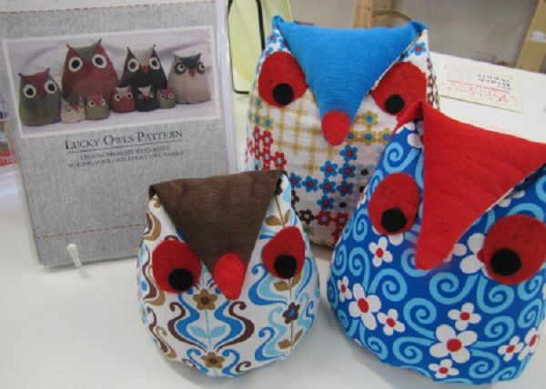 Free Owl Door Stop Sewing Pattern | Door Designs Plans