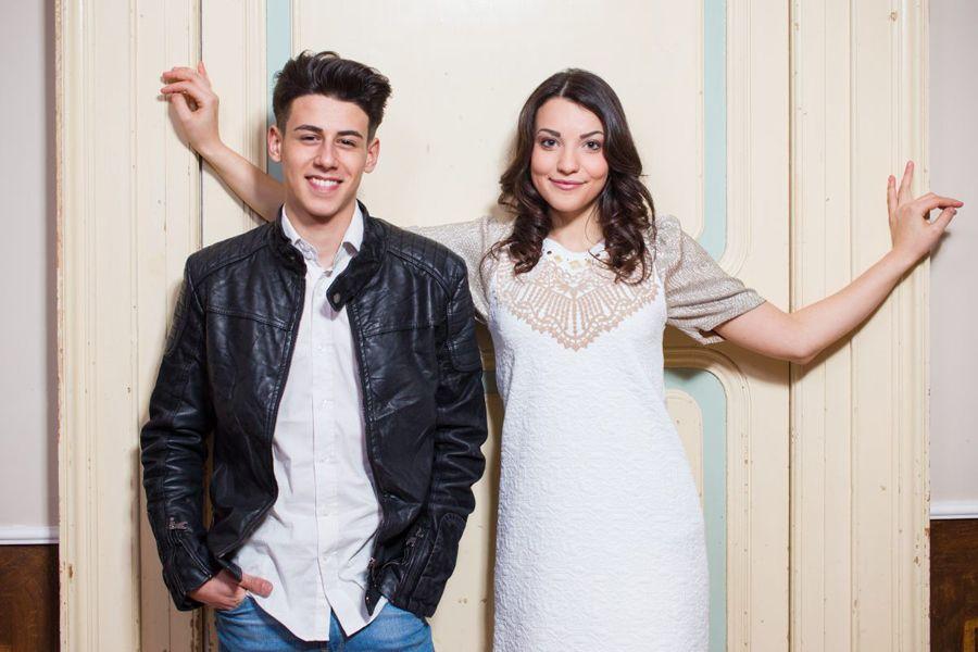 San Marino – Michele Perniola und Anita Simoncini werden San Marino mit dem Song Chain Of Light in Wien vertreten.